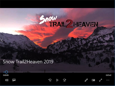 Snow Trail 2 Heaven 2019